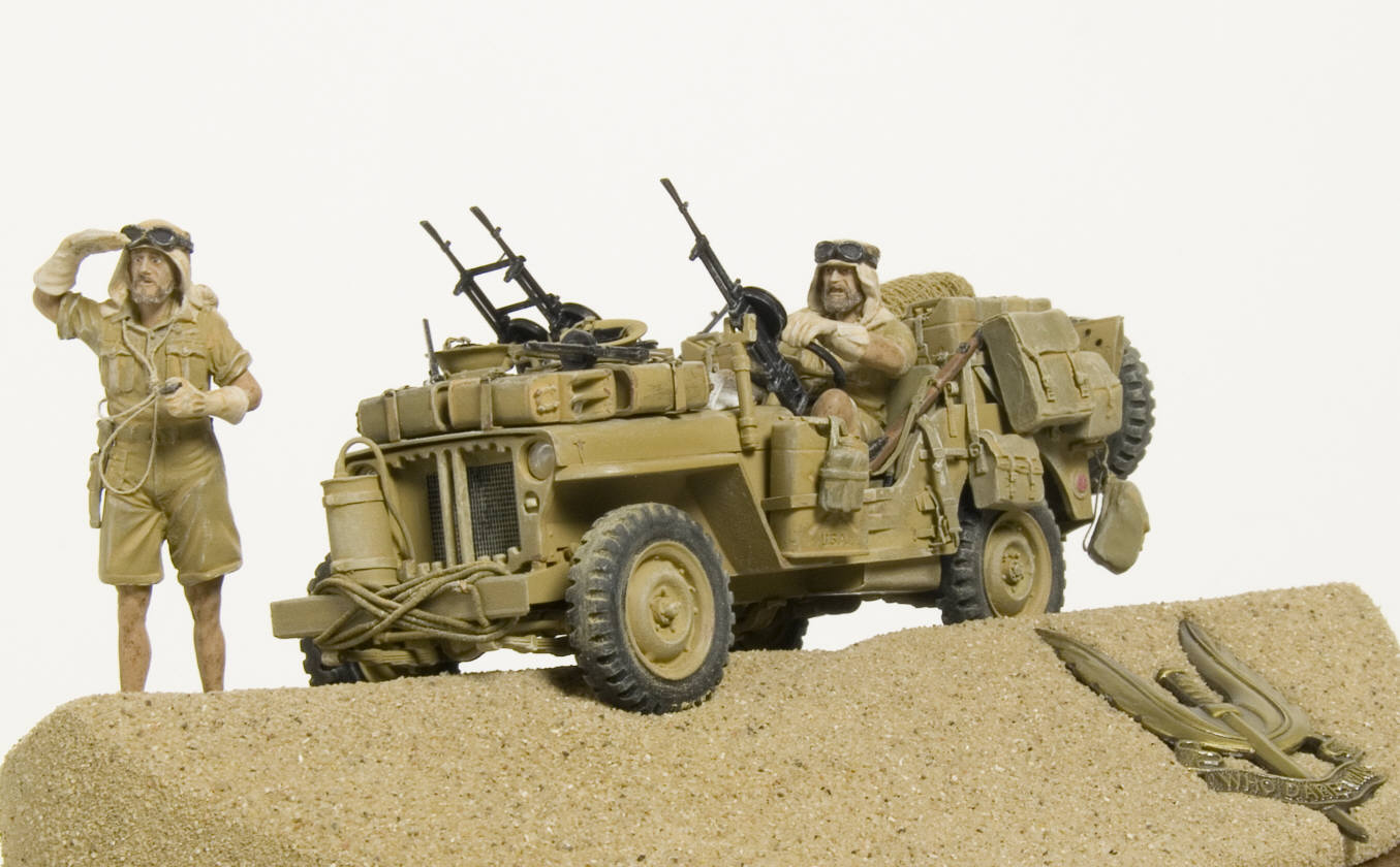 Long Range Desert Group - Modelers Section